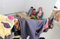 KONTEYNER KENT - Semira Şiko Ve Çocuklarına Konterner Kentte Sıcak Yuva