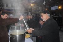 SABAH NAMAZı - Taşköprü Belediyesi'nden Sabah Çorba İkramı