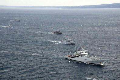 Türk Donanması, Ege Denizi'nde gövde gösterisi yaptı