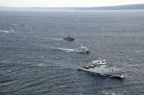 24 KASıM - Türk Donanması, Ege Denizi'nde gövde gösterisi yaptı