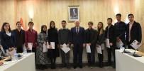 YEKTA SARAÇ - YÖK'ten Marmara Üniversitesi Fakülte Birincilerine Başarı Belgesi