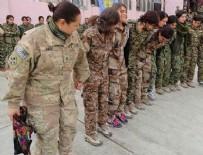 YPG - ABD'li kadın asker YPG'lilerle halay çekti
