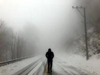 KAR LASTİĞİ - AFKOM'dan Kocaeli İçin Soğuk Hava Ve Kar Uyarısı