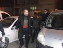 Aranan hırsızlık şüphelisi polis aracına çarpınca yakalandı