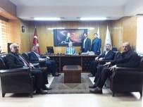 MALATYA CUMHURİYET BAŞSAVCILIĞI - Avşar'dan Başsavcı Usta'ya Ziyaret