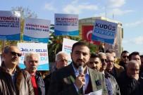 AMERİKA BAŞKANI - Aydın'da Kudüs Protestosu