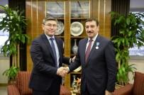 KAZAKISTAN - Bakan Tüfenkci, Kazakistan Büyükelçisi Saparbekulı'yı Kabul Etti