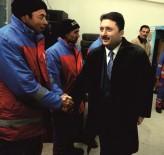AHMET ÖZEN - Başkan Avcı Mesaiye Erken Başladı
