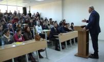 PAMUKÖREN - Başkan Ertürk, Üniversiteli Gençlerle Buluştu