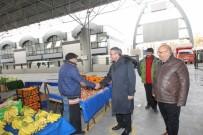GEBZELI - Başkan Köşker'den Tatlıkuyu Pazarına Ziyaret
