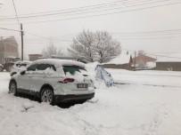 KARDAN ADAM - Bingöl'de Kar Yağışı Etkili Oldu
