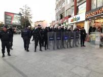 SELAHATTİN DEMİRTAŞ - Çorlu'da Çevik Kuvvet'ten Basın Açıklaması Tedbiri