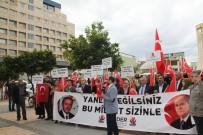 YOLSUZLUK - Cumhurbaşkanı Erdoğan'a Destek Eylemi