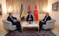 MEVLÜT ÇAVUŞOĞLU - Dışişleri Bakanı Çavuşoğlu, Sırbistan'da Üçlü Dışişleri Bakanları Toplantısı'na Katıldı
