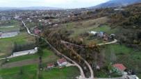 DOĞANTEPE - Doğantepe'de Bin 100 Metrelik Beton Yol