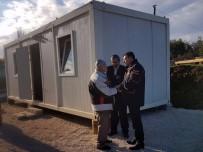 YAŞLI ÇİFT - Evi Yanan Yaşlı Çifte AFAD Yardımı