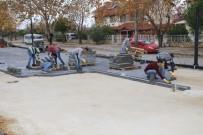 Fatih Caddesinde Çalışmalar Tüm Hızıyla Sürüyor