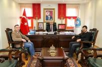 İHLAS - İHA'dan Rektör Kar Ve Belediye Başkanı Özkan'a Ziyaret