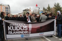 Karaman'da 'Kudüs' Protestosu