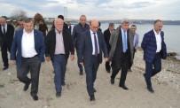İSMAIL YıLDıRıM - Karaosmanoğlu, Hersek Sahilini Gezdi
