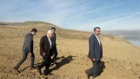 ABDURRAHMAN TOPRAK - Kaymakam Ve Başkan Sahil Yolu Çalışmalarını İnceledi
