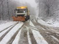 ÜNİVERSİTE KAMPÜSÜ - Kocaeli'de 410 Kişilik Ekip Karla Mücadele Ediyor