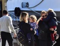 KANLıCA - Pınar Sabancı çocuklarını parka tekneyle götürüyor