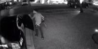 FLORIDA - Polis Aracını Soyup Soğana Çevirdi