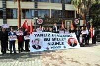 VATAN HAINI - Suriye Sınırındaki Akçakale'de ABD Ve NATO Protesto Edildi