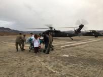 TUNCELİ VALİSİ - Tunceli'de Hasta İçin Askeri Helikopter Tahsis Edildi