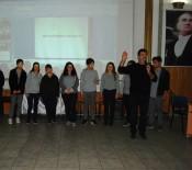 Ünlü Oyuncu İğdigül, Bayramiç'te Öğrencilere Seminer Verdi