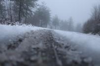 Zonguldak'a İlk Kar Düştü