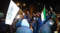 ABD Temsilciliği Önünde Dualı Kudüs Protestosu