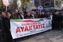 DEMOKRASİ PARKI - Adıyaman'dan Kudüs Protestosu