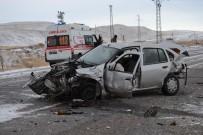 OVAKıŞLA - Ahlat'ta Trafik Kazası Açıklaması 1 Ölü, 2 Yaralı