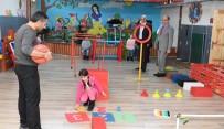 BEDENSEL ENGELLİ - Ali Korkut, Erzurum Özel Eğitim Uygulama Merkezini Ziyaret Etti
