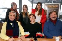 VOLKAN SEVERCAN - Aşkı Memduh Tiyatro Oyuncuları Nissara AVM'de Söyleşiye Katıldı