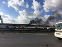 YANGIN TATBİKATI - Atatürk Havalimanı'nda Yangın Tatbikatı
