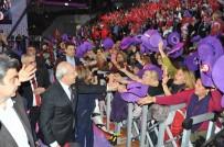 ANKARA ARENA - Balçova'nın Mor Şapkalı Kadınları Dikkat Çekti