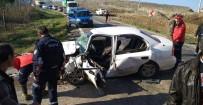 Balıkesir'de Trafik Kazası Açıklaması 1 Ölü, 4 Yaralı