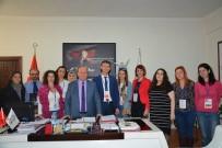 ERASMUS - Başkan Özakcan'a 'Farklıların Gökkuşağı' Proje Ekibinden Ziyaret