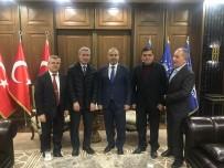 KALDIRIM ÇALIŞMASI - Başkan Yalçın'ın Bursa Temasları