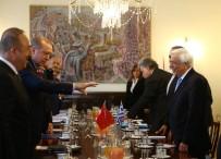 YUNANISTAN CUMHURBAŞKANı - Cumhurbaşkanı Erdoğan, Atina'da Heyetler Arası Görüşme Gerçekleştirdi