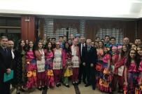 KıNA GECESI - Edirne Belediyesi Halk Oyunları Ekibi Karadağ'ı Fethetti