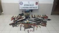 AKREP - Evin Bodrum Katında Çok Sayıda Silah Ele Geçirildi