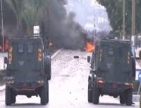 ABD BAŞKANI - Filistinliler protesto için Kudüs sokaklarında