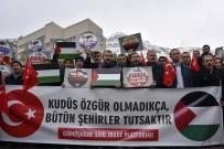 ŞUURLU ÖĞRETMENLER DERNEĞI - Gümüşhane'de STK'lar ABD'nin Kudüs Kararını Protesto Etti