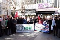 DIYANET SEN - Isparta'da Kudüs Protestosu