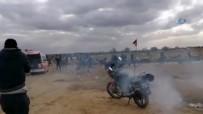 İsrail polisinden Filistinlilere saldırı.