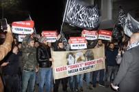 YAHUDI - İstanbul ABD Konsolosluğu Önünde Kudüs Eylemi